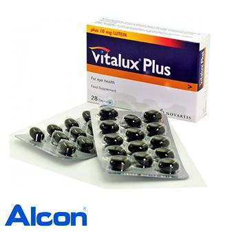 Vitalux Plus - Suplemento Vitamínico Oftalmológico - 28 Cápsulas