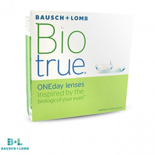 Контактные линзы bausch lomb biotrue oneday