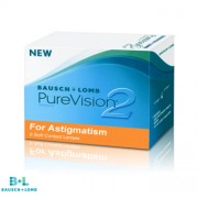 PureVision 2  for Astigmatism - 6 Lentes Contacto