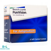 PureVision  for Astigmatism - 6 Lentes Contacto