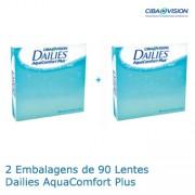 PACK - 2x90 Dailies Aqua Comfort