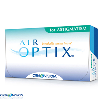 Air Optix Astigmatism - 6 Lentes Contacto