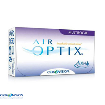 Air Optix Aqua Multifocal - 6 Lentes Contacto