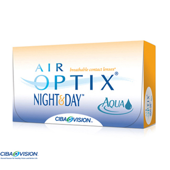 Air Optix Night & Day Aqua - 6 Lentes Contacto