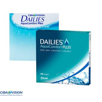 Focus Dailies Aqua Comfort Plus - 90 Lentes Contacto
