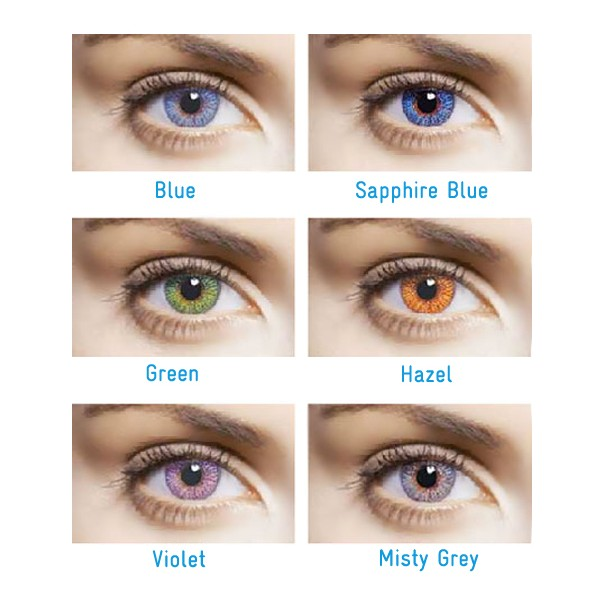 Freshlook Color Contact Lenses With Graduation By Ciba Vision