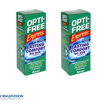 Opti-Free Express -Pack 2X  355 ml