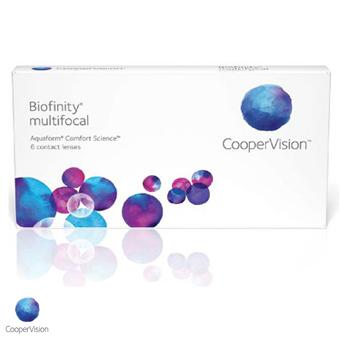 Biofinity Multifocal - 6 Lentes Contato