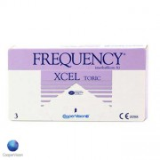 Frequency Xcel Toric - 3 Lentes Contacto