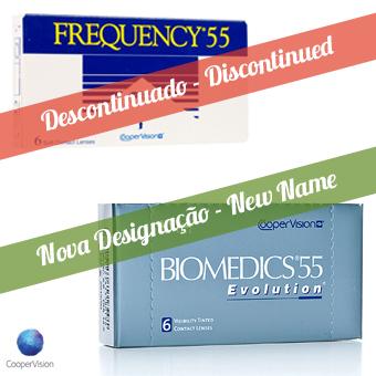Frequency 55 - Biomedics 55 - 6 Lentes de Contato