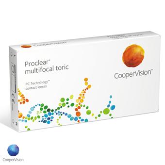 Proclear Multifocal Toric - 3 Lentes Contato