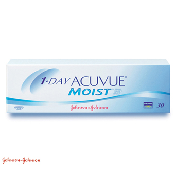 1 Day Acuvue Moist - 30 Lentes Contacto