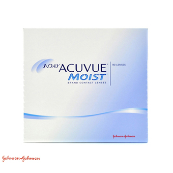 1 Day Acuvue Moist - 90 Lentes Contacto