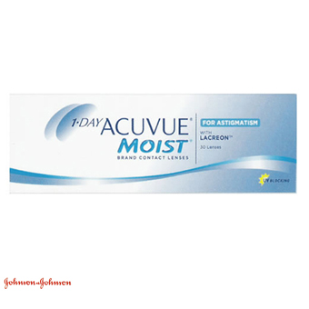 1 Day Acuvue Moist Astigmatism - 30 Lentes Contacto