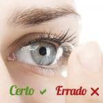 Certos e errados na manutenção das lentes