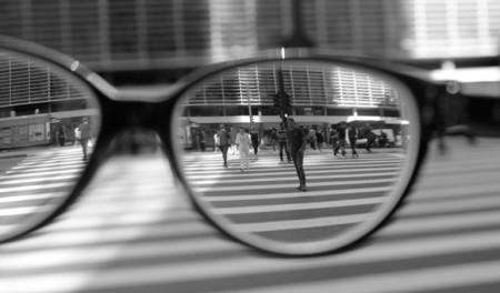 Ensaio fotográfico sobre a miopia