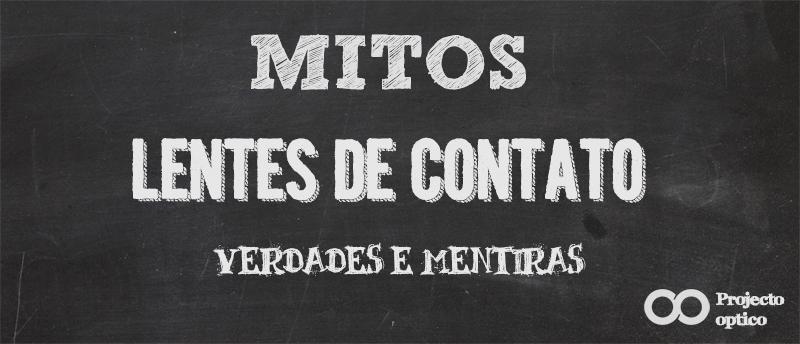 Mitos sobre lentes de contato