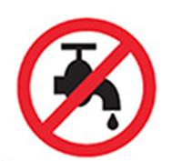 Não lavar as lentes com água