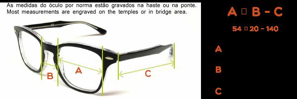 Medidas do oculo